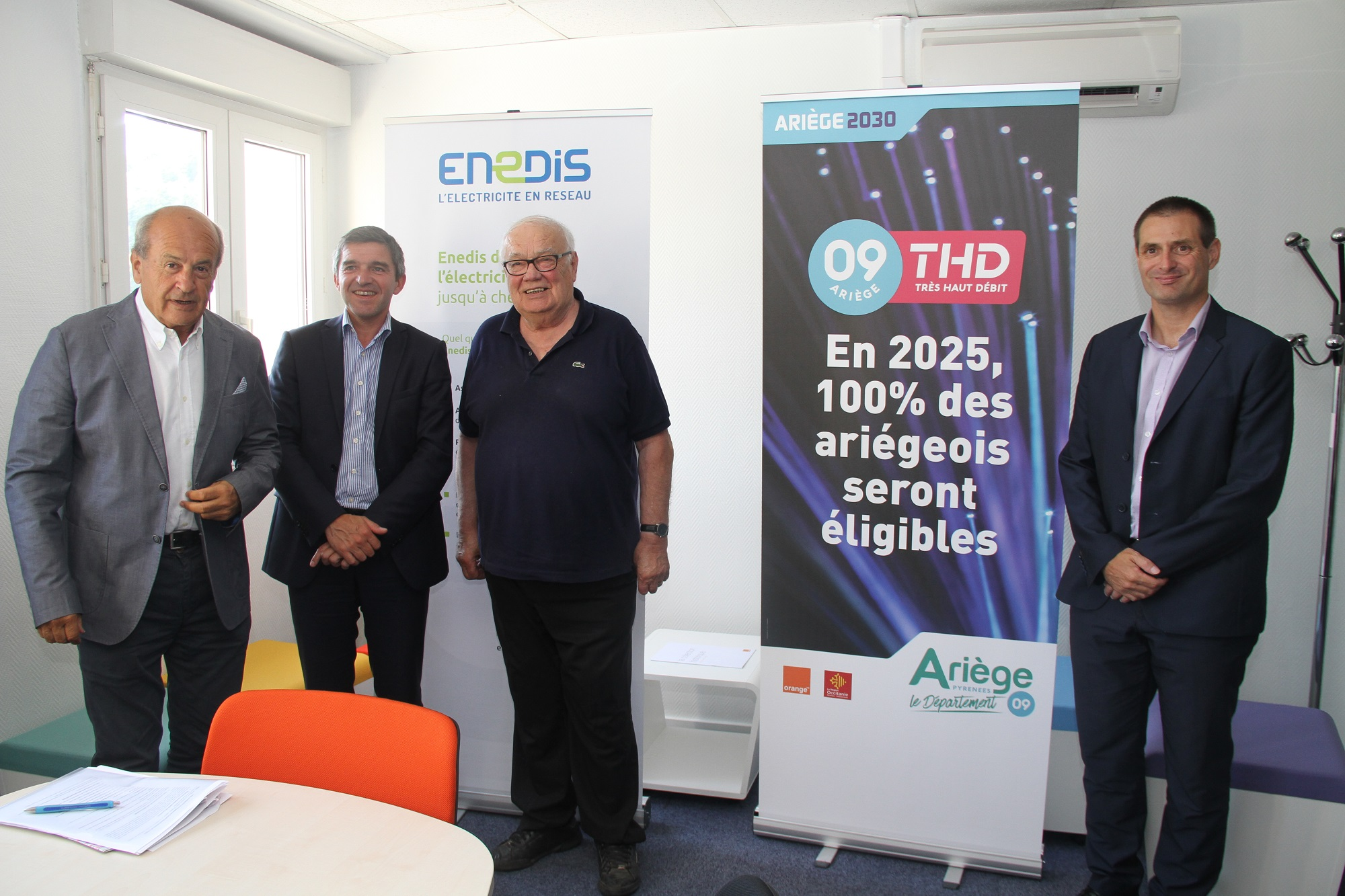 signature convention enedis SDE09 et ArTHD